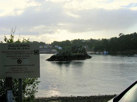 Roch donan - Spot plongée du bord à Paimpol