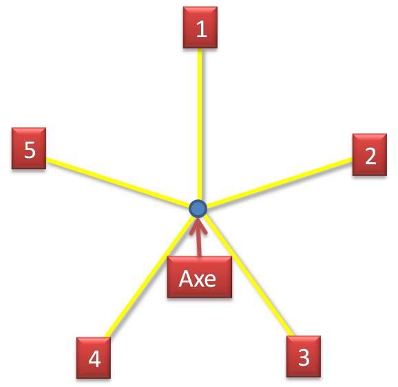 "Symétrie radiaire ""5"""